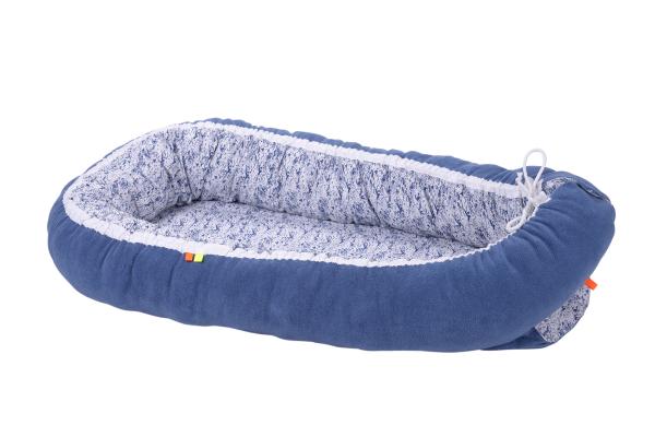 Hnízdo pro miminko modré