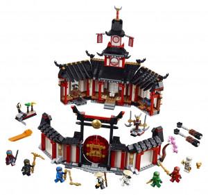 Lego Ninjago Chrám Spinjitzu