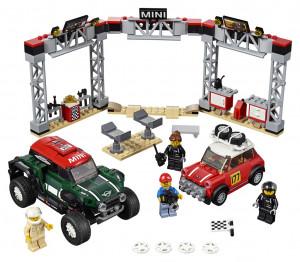 Lego Speed Champions 1967 Mini Cooper S Rally a 2018 MINI Jo
