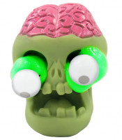 Slimy se zombie hlavou, 80g slizu