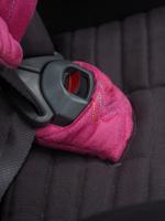 Autosedačka ISOFIX GLIDER 2 SOFTY (9-25) 2019 černá / růžová