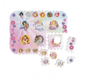 Pěnové puzzle Disney Princezny 12ks
