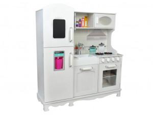 Dřevěná kuchyňka XXL bílá