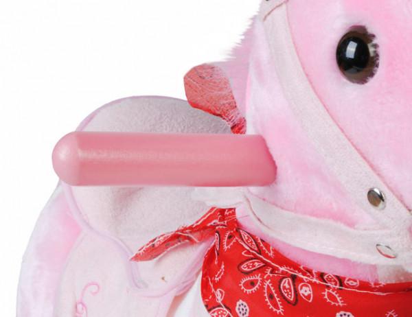 Interaktivní houpací kůň, růžovy, 73cm