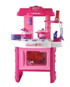 Kuchyňka s příslušenstvím pro holčičky