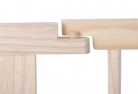 Dřevěná ohrádka borovice 8 panelů XXL