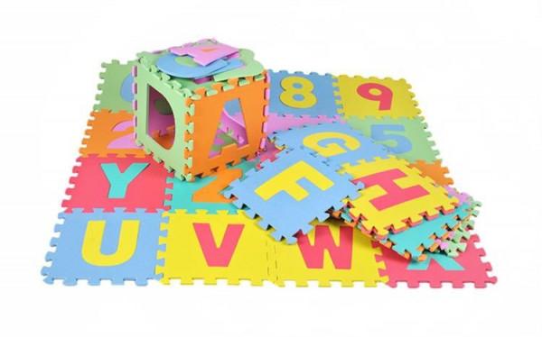 Pěnové puzzle 30x30cm - 36 ks