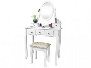 Elegantní toaletní stolek se zrcadlem