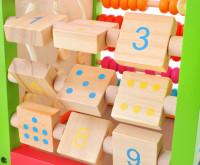 Interaktivní dřevěné vzdělávací centrum 5v1