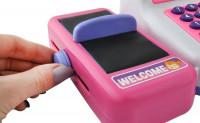 Dětská pokladna SET se skenerem, nákupním košíkem a jiným příslušenstvím