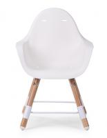 Židlička 2v1 Evolu 2 Natural / White