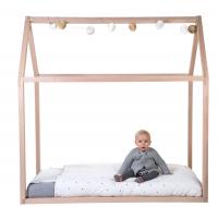 Rám postele Domek Natural 70x140cm