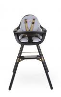 Sedací podložka do židličky Evolu Jersey Gold Dots