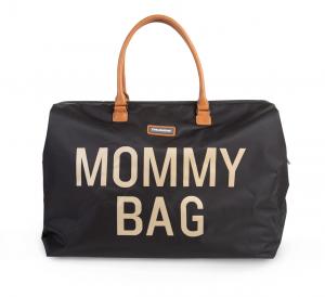 Přebalovací taška Mommy Bag Big Black Gold