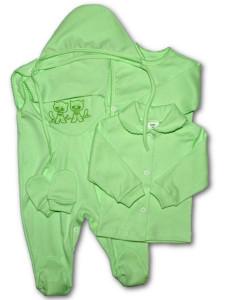 5-ti dílná soupravička New Baby zelená