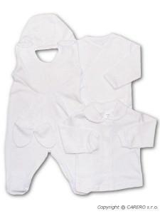 Soupravička 5-ti dílná New Baby bílá