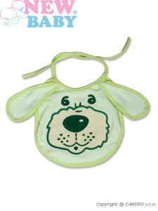 Dětský bryndák New Baby zelený