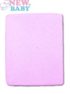 Nepromokavé prostěradlo New Baby 120x60 fialové