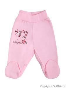 Kojenecké polodupačky Bobas Fashion Benjamin růžové