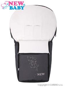 Luxusní fleecový fusák New Baby šedý