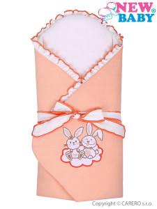 Zavinovačka s výztuží New Baby Bunnies oranžová
