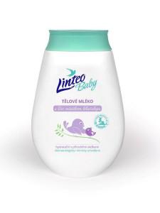 Dětské tělové mléko Linteo Baby s měsíčkem lékařským