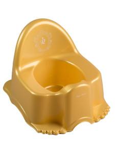 Hrající dětský nočník Royal zlatý