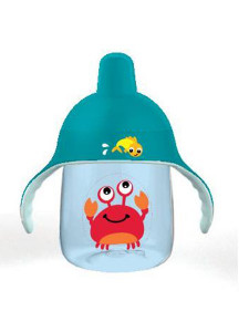 Kouzelný hrneček Avent Premium Krab 260 ml modrý