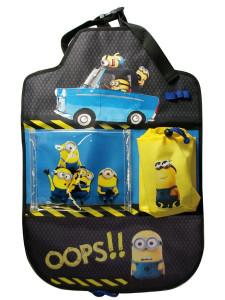 Kapsář do auta Disney Minions 40x60 cm