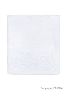 Dětská deka Womar 90x80 bílá