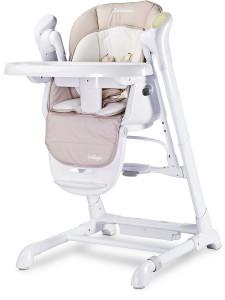 Dětská jídelní židlička 2v1 Caretero Indigo beige
