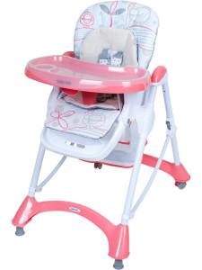 Jídelní židlička Baby Mix pink