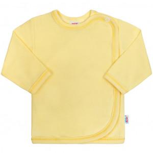 Kojenecká košilka New Baby žlutá