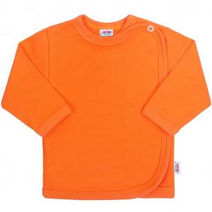 Kojenecká košilka New Baby oranžová