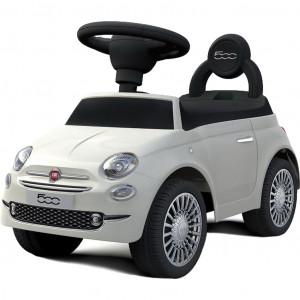 Odrážedlo Baby Mix FIAT 500 bílé