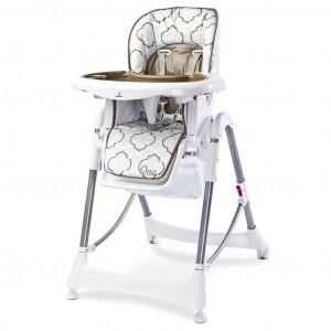 Jídelní židlička CARETERO One brown