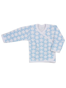 Kojenecká košilka Koala Magnetky modrá s hvězdičkami