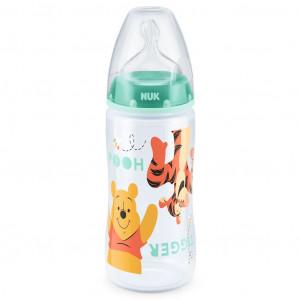 Kojenecká láhev NUK Medvídek Pú 300 ml zelená