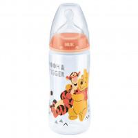 Kojenecká láhev NUK Medvídek Pú 300 ml oranžová