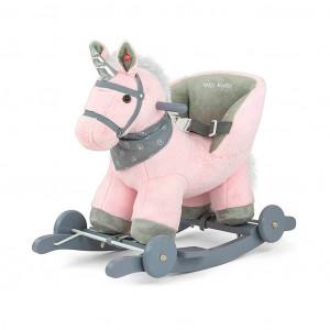Houpací koník Milly Mally Polly růžový
