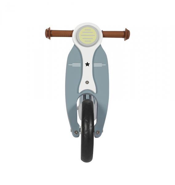 Odrážedlo dřevěné Scooter modré