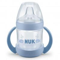Kojenecká láhev na učení NUK Nature Sense 150 ml modrá