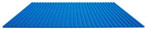 Modrá podložka na stavění