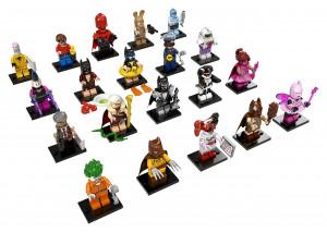 LEGO Minifigurky Batman MOVIES  1 serie
