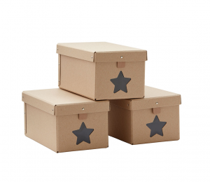 Krabice na boty Natural 3ks