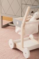 Nákupní vozík dřevěný Bistro