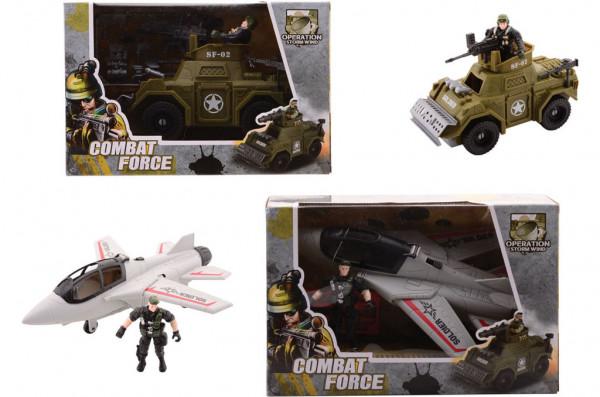Vojenská sada Combat Force velká