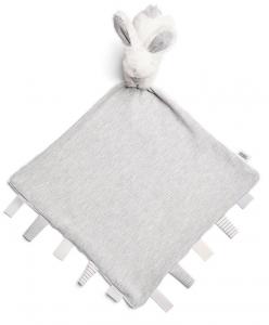 Muchláček s králíčkem šedý