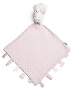 Muchláček s králíčkem růžový