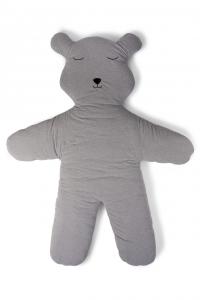 Hrací deka medvěd Teddy Jersey Grey 150cm